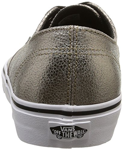Decon Dorado Authentic U Metallic Unisex White Vans True Bajas Zapatillas Bronze paBTgaqw