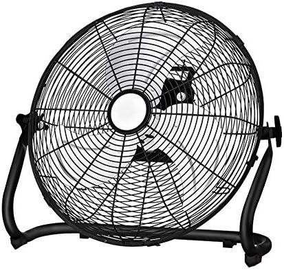 LRUIJIE Ventilador de Piso Ajustable de circulación de Aire frío ...