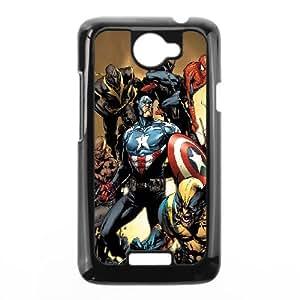 HTC One X Cell Phone Case Black Avengers New Illust Yfwcw