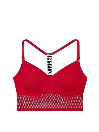 cac14fe5d976e Amazon.com  Victoria s Secret Pink New! Cool   Comfy Wireless T-Back ...