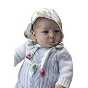 Bailey's Blossoms Hadley Floral Baby & Toddler Girl Bonnet, Small 0-6 Months