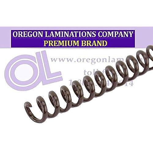 PMS 469 C 4:1 Spiral Binding Coils 7mm pk of 100 Medium Brown 9//32 x 36-inch