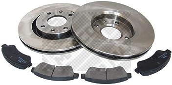 Bremsensatz Scheibenbremse für Bremsanlage Vorderachse MAPCO 47019