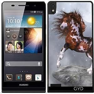 Funda para Huawei Ascend P6 - Caballo Nativo by Gatterwe