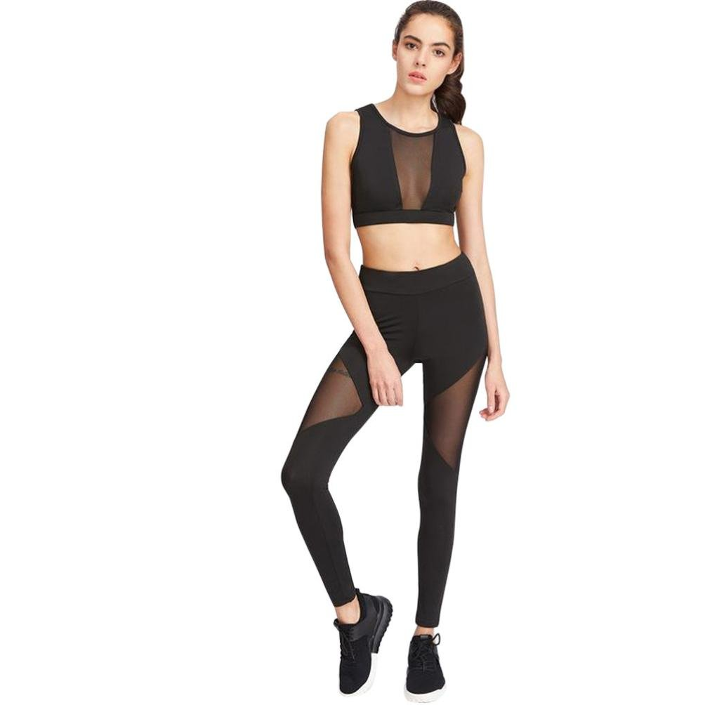 FNKDOR Fashion Clearance Women Jogging SWaist Yoga Fitness Leggings Running Gym Stretch Sports Pants Trousers