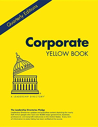 Corporate Yellow Book Winter 2015: Who's Who at the Leading U.S. Companies