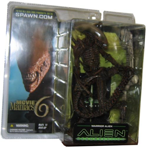 McFarlane Toys Movie Maniacs Series 6 Alien and Predator Action Figure Warrior Alien by Spawn (1 Toy Spawn Series Mcfarlane)