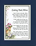 A Thank-You Gift Poem for A Mother #05 . Present For Mother's 60th 70th 80th 90th Birthday.