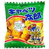 Cabbage Taro 30 packages (Japanese soy snacks; Okonomiyaki sauce flavor)<Japan import>