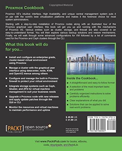 Proxmox Cookbook: Wasim Ahmed: 9781783980901: Amazon com: Books
