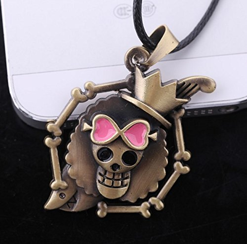 Crossbone Choker - usongs Selling popular anime necklace pendant surrounding skull and crossbones logo necklace pendant