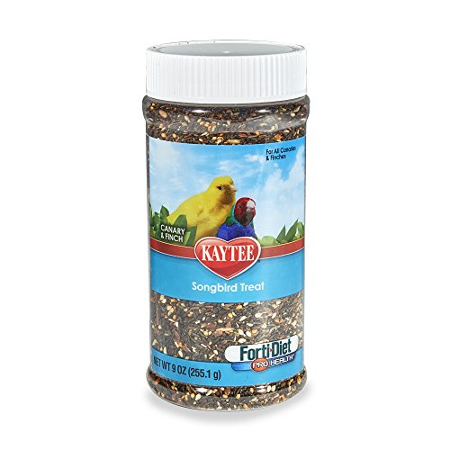 (Kaytee Forti-Diet Pro Health Canary And Finch Songbird Treat, 9-Oz Jar)