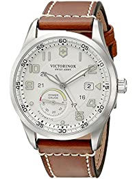 Men's 241576 AirBoss Analog Display Swiss Automatic Brown Watch