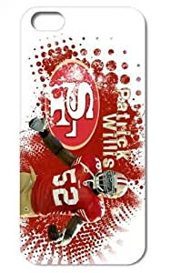 The NFL stars Patrick Willis from San Francisco 49ers team custom design case cover for iphone 5 5S