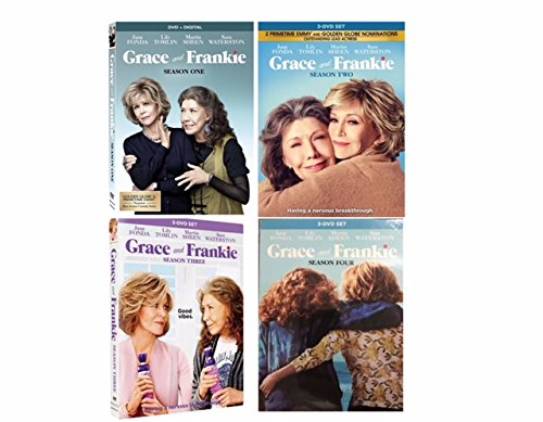 Grace and Frankie: The Complete Series Seasons 1-4 (DVD, 12-Disc Box Set) by LTV