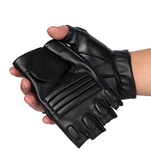 引退するあなたのものそんなに(デマ―クト)De.Markt PU 指出し 手袋 グローブ 滑り止め 通気性 登山用手袋 ウォーキング 自転車 サイクルグローブ 春夏用
