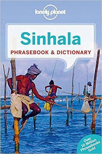 lonely planet sinhala sri lanka phrasebook dictionary lonely