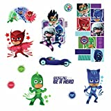 RoomMates PJ Masks Peel and Stick Wall Decals ,9