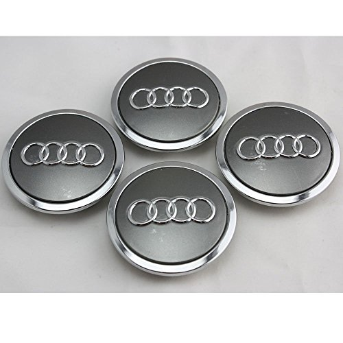 SDSB 4pcs FOR AUDI A3 A4 A6 RS4 WHEEL CENTER HUB CAP 4B0 601 170 A NEW - Cap Hubcap Center Set