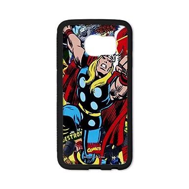 3afb045477e Persoanlized diseño Marvel Comics Thor Samsung Galaxy S6 EDGE Caso  personalizadas carcasa para Samsung Galaxy S6 EDGE: Amazon.es: Electrónica