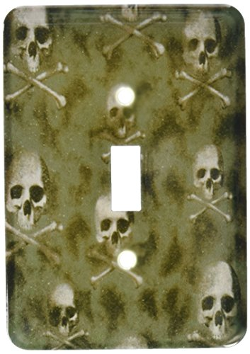 3dRose lsp 60477 1 Skulls Camouflage Single