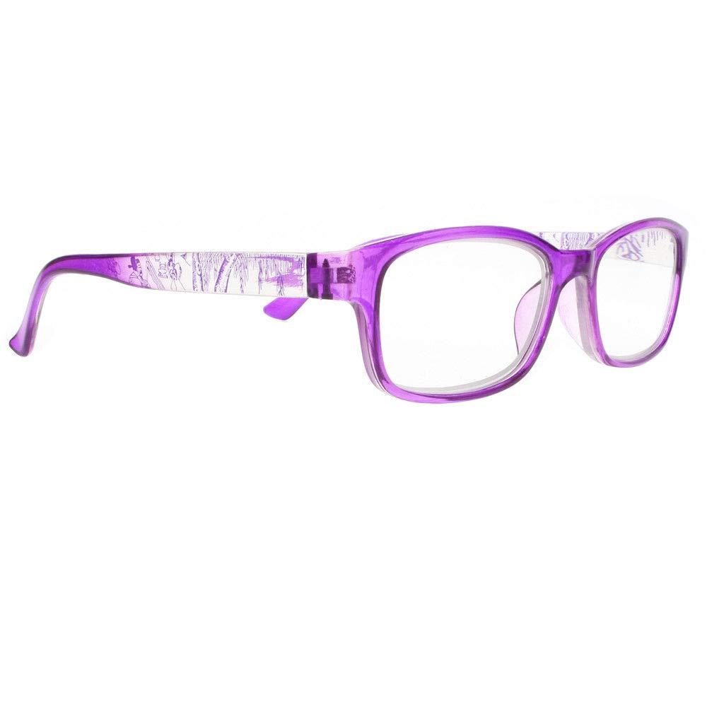 1.00 ~ 4.00 Men women Multi-Color Chinese Style Rectangle Reader Reading Glasses