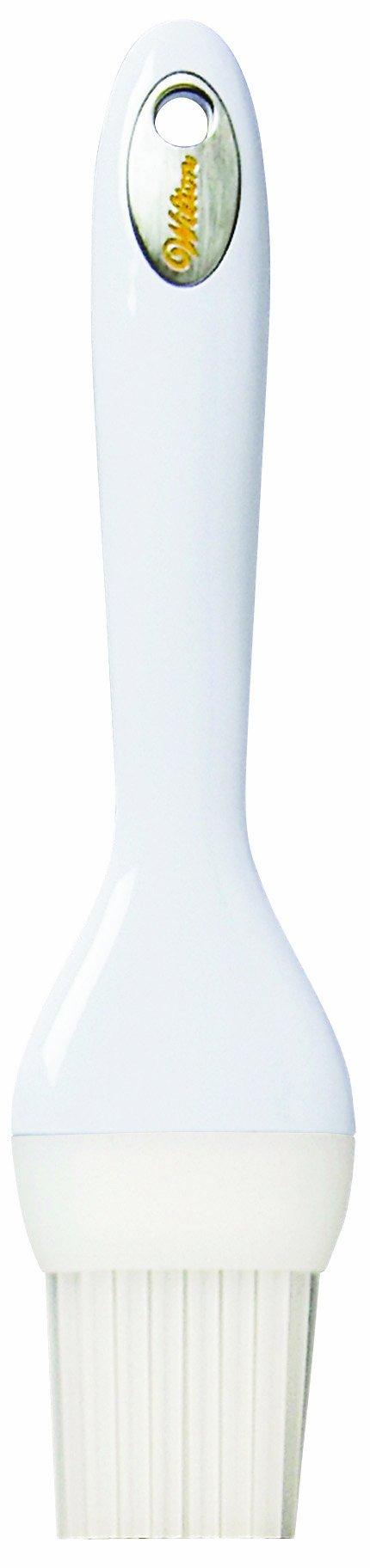 Wilton 409-6056 Silicone Pastry Brush, White