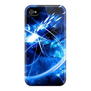 New Arrival Blue Lines For Iphone 4/4s Case Cover