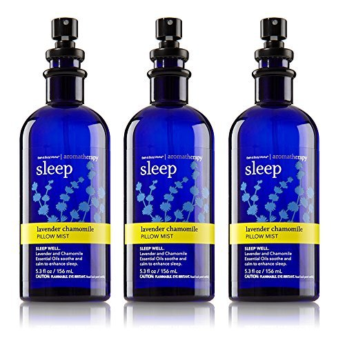 Bath & Body Works Aromatherapy Pillow Mist Lavender Chamomile 3 Pack