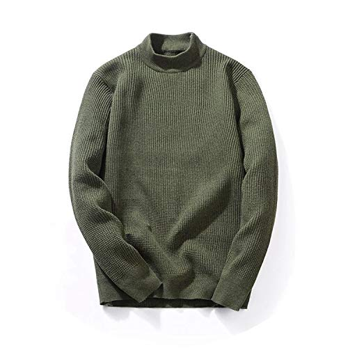 2018 Winter Pullover Men Cotton Thicken Knitted Turtlenck for sale  Delivered anywhere in USA