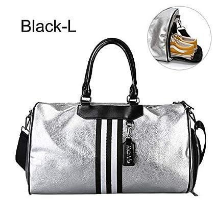 Silver Sports Bag Lady Bolsa de Equipaje en Bolsas de Viaje ...