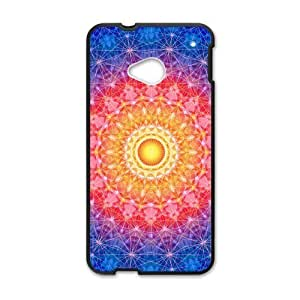 Canting_Good Colorful Mandala Custom Case Shell Skin for HTC One M7(Laser Technology) by icecream design