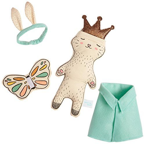 Seedling Littles Royally Cute Kitty Dress Up Plush Toy for T