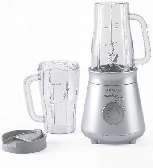 Kenwood Smoothie 2GO Batidora de vaso con 2 tazas, 25 W, 0.5 ...