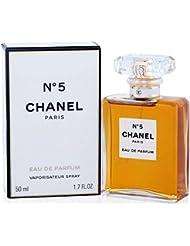 Chânel No.5 Eau De Parfum Spray for Woman, EDP 1.7 Ounces 50 ML
