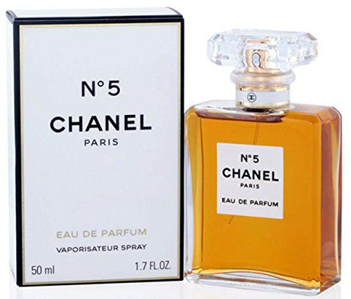 Chânel No.5 Eau De Parfum Spray for Woman, EDP 1.7 Ounces 50 ML