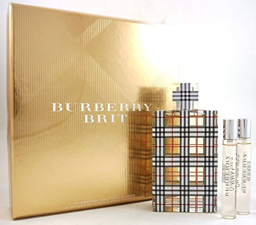 BURBERRY Brit for Women Eau de Parfum Gift Set (3.3 oz +...