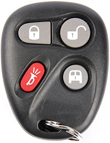APDTY 133972 Keyless Entry Replacement Key Fob Transmitter Fits 2003-2007 Chevrolet Express or GMC Savana 1500 2500 3500 Van (Dealership or Locksmith Programming Required; Replaces 15752330)
