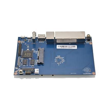 youyeetoo Banana PI BPI R1 con 1GB DDR3 y Tarjeta MicroSD y SATA ...
