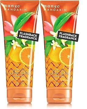 Bath and Body Works MANGO MANDARIN Ultra Shea Body Cream 2 Pack 8 once each