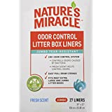 Nature's Miracle Odor Control Jumbo Litter Box Liners, 27 Count