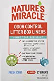 Nature's Miracle Odor Control Jumbo Litter Box Liners - 27 Count
