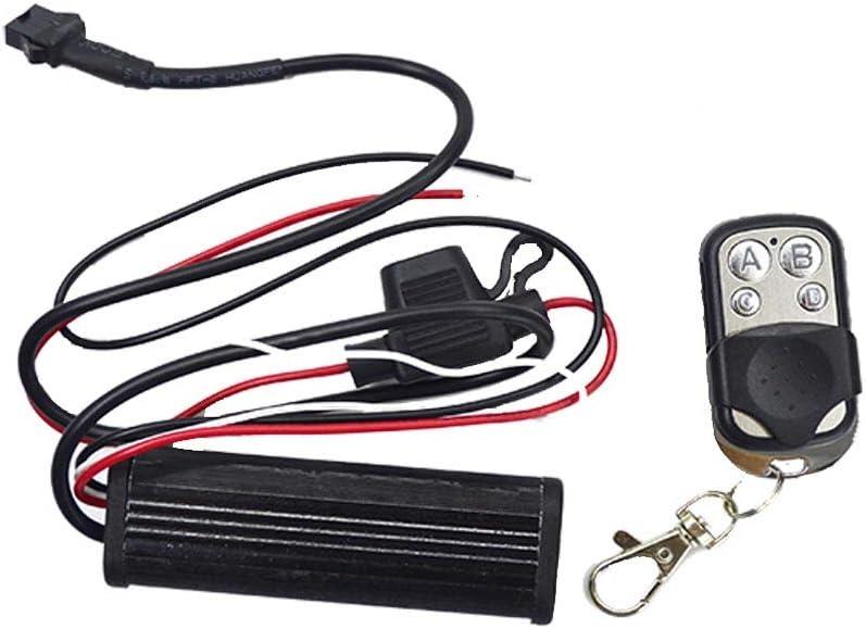 Kingshowstar 4 Key Led RGB Controller for led Motorcycle car Strip pod Light