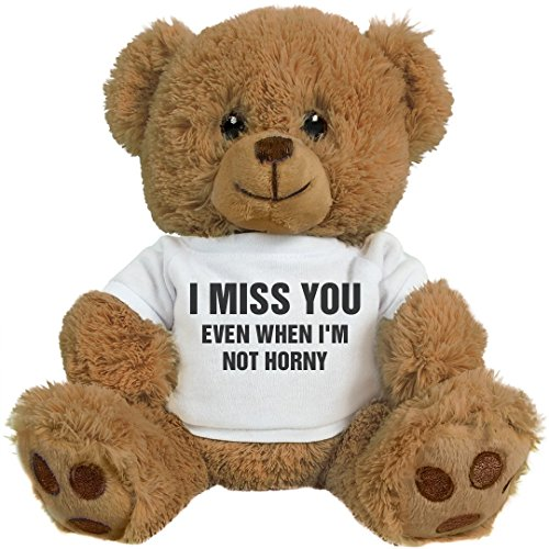 Funnyshirts Org Funny Valentines Day Gift Bear  8 Inch Teddy Bear Stuffed Animal