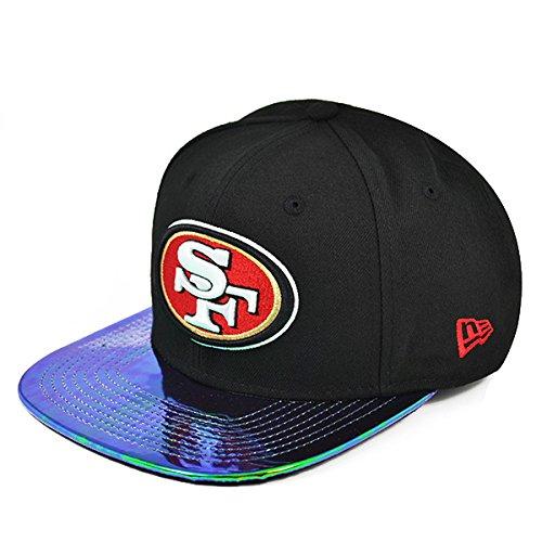 親指プロポーショナルフローSan Francisco 49ersマルチグロススナップバック9 Fifty New Era NFL帽子