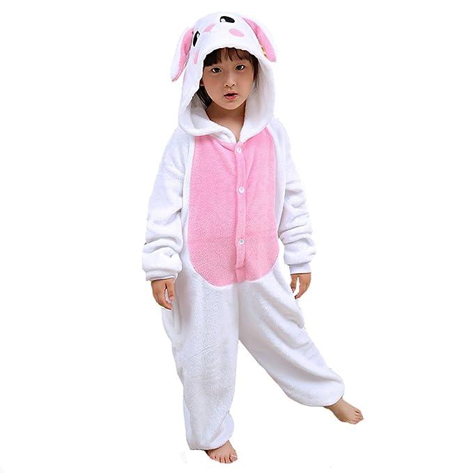 Pijamas de Animales Unisex para Niños, Disfraces de Fiesta de Halloween de Navidad, Pijamas