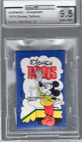 (1974 Disney PAck Mickey Mouse GAI 9.5 GEM)