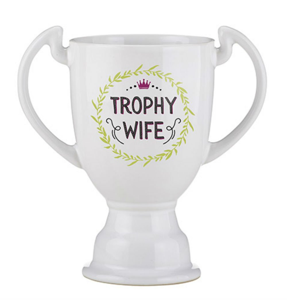 Set of 4 Trophy Mug - Trophy Wife