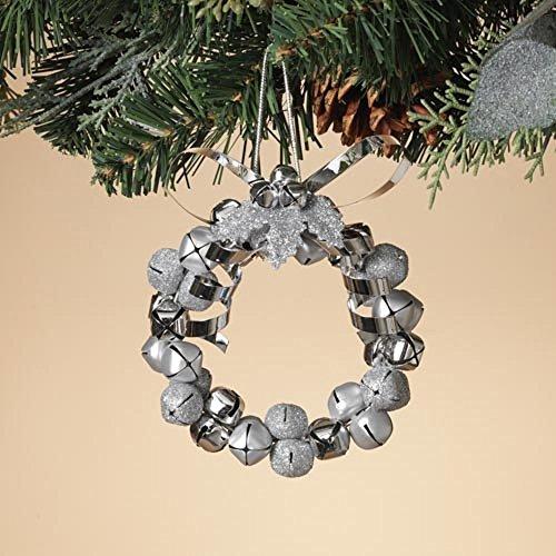 Jingle Bell Wreath Ornament - 4