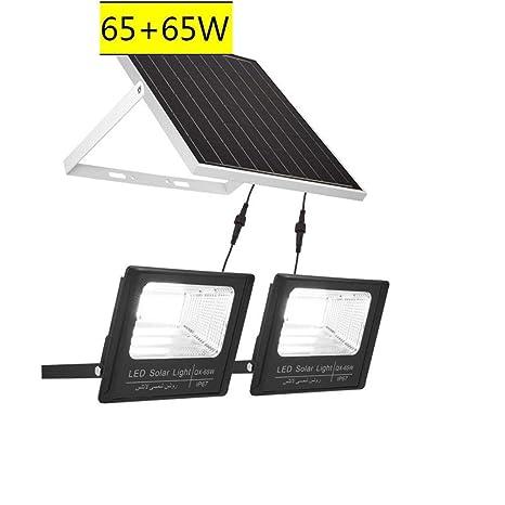 Foco Led Solar Exterior, proyector de seguridad de iluminación de ...